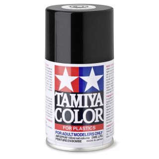 85014 TS 14 Black Gloss Tamiya Color 100ml (Acrylic Spray Paint)