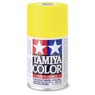 85016 TS 16 Yellow Gloss Tamiya Color 100ml (Acrylic Spray Paint)