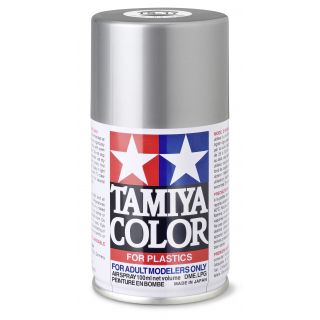 85017 TS 17 Aluminium Silver Gloss Tamiya Color 100ml (Acrylic Spray Paint)