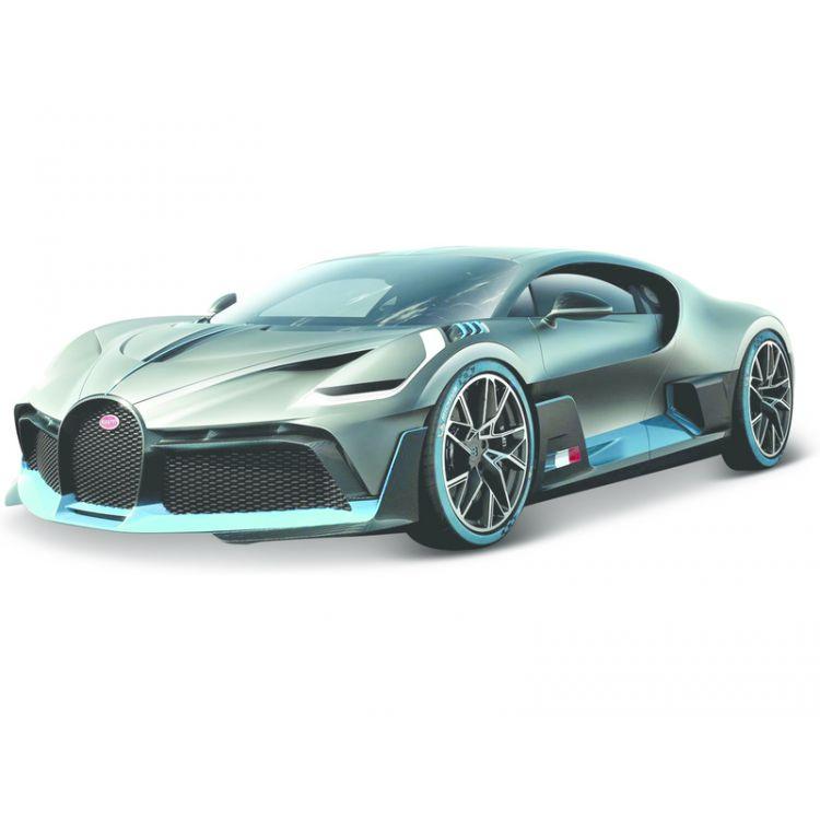Bburago Bugatti Divo 1:18 stříbrná