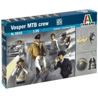 Model Kit figurky 5616 - VOSPER MTB CREW (1:35)
