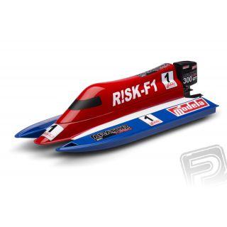 RISK F-1 stavebnice rychlostního člunu