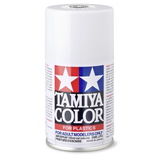 85026 TS 26 White Gloss Tamiya Color 100ml (Acrylic Spray Paint)