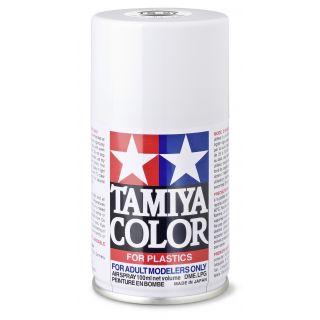 85027 TS 27 Flat White Tamiya Color 100ml (Acrylic Spray Paint)