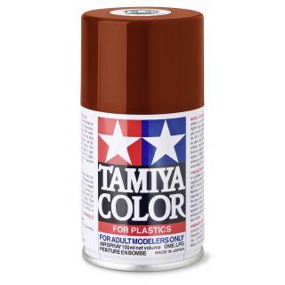 85033 TS 33 Flat Hull-Red Tamiya Color 100ml (Acrylic Spray Paint)