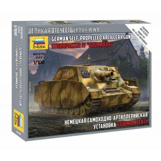 "Snap Kit  military 6244 - Sturmpanzer IV ""Brummbär"" (1:100)"
