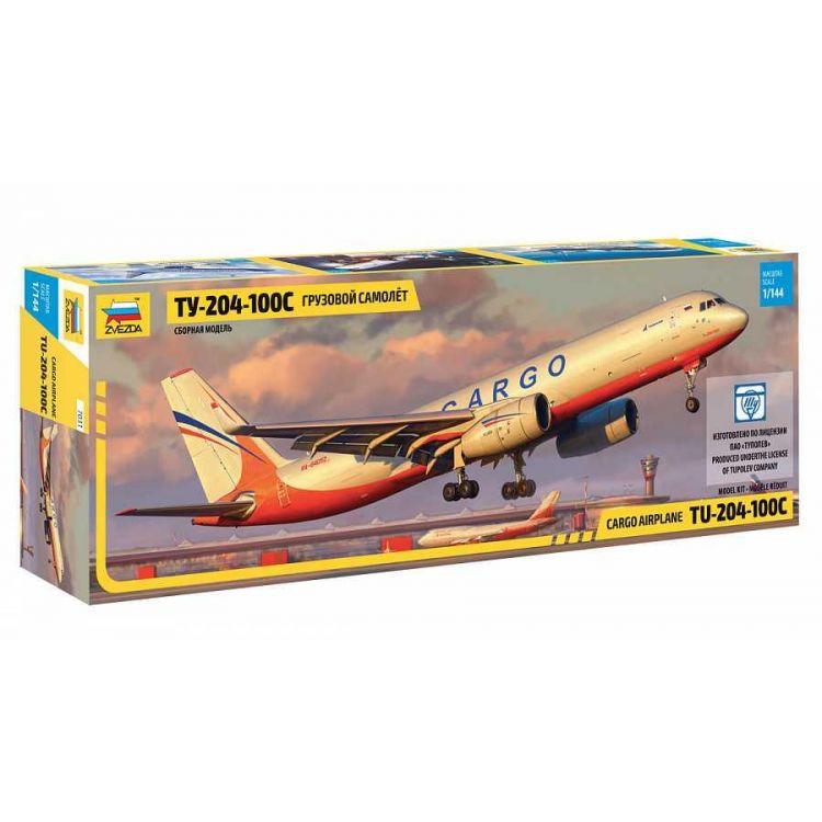 Model Kit letadlo 7031 - Tupolev TU 204-100 Cargo (1:144)