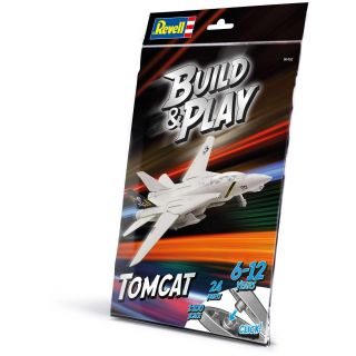 Build & Play letadlo 06450 - F-14A Tomcat (1:100)