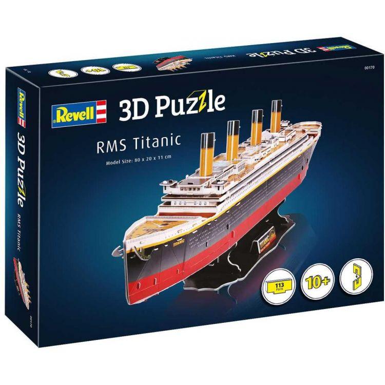 3D Puzzle REVELL 00170 - Titanic