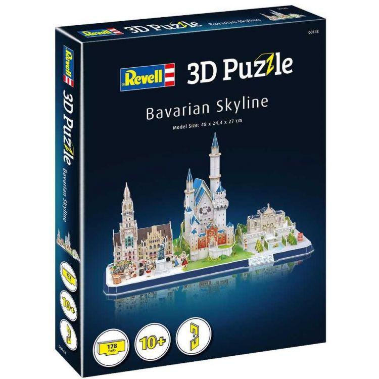 3D Puzzle REVELL 00143 - Bavarian Skyline