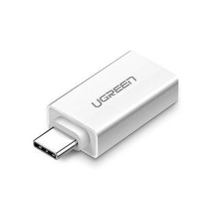 UGREEN redukce USB-C na USB-A, bílá
