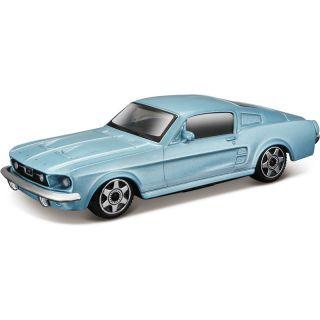 Bburago Ford Mustang GT 1:43 modrá metalíza