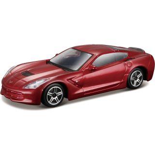 Bburago 2014 Corvette Stingray 1:43 červená