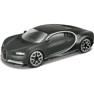 Bburago Bugatti Chiron 1:43 šedá metalíza