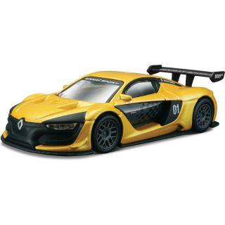 Bburago Renault Sport R.S. 01 1:43 žlutá metalická