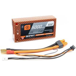 Spektrum Smart LiPo 7.4V 5000mAh 50C HC