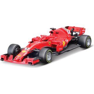 Bburago Ferrari SF71H 1:43 NO7 Räkkönen