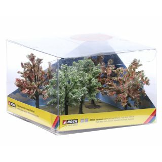 Ovocné stromy, kvitnúce, 5 ks,  8 cm  NO25003