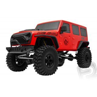 CREW 4X Crawler RTR set 2,4GHz červená