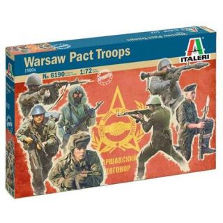 Model Kit figurky 6190 - Warsaw Pact Troops (1980s) (1:72)