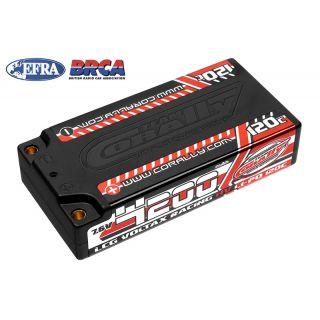 VOLTAX HiVOLT 120C LiPo LCG Shorty Hardcase-4200mAh-7.6V-G4 (31,9Wh)
