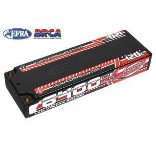 VOLTAX HiVOLT 120C LiPo LCG Stick Hardcase-6400mAh-7.6V-G4 (48,6Wh)