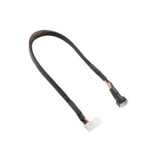 Balanční prodlužovák - 2S XH konekt. - nabíj. 6S XH zástrčka - silik. kabel 22AWG - 30cm