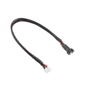 Balanční prodlužovák - 3S XH konekt. - nabíj. 3S XH zástrčka - silik. kabel 22AWG - 30cm