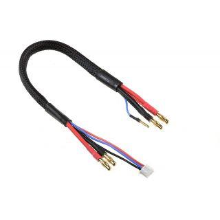 Nabíjecí kabel - G4/2S XH na G4/G2 - 14 AWG/ULTRA V+ Silikon Kabel - 30cm