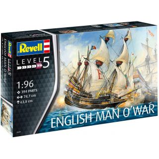Plastic ModelKit loď 05429 - English Man O'War (1:96)