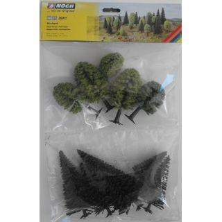 Zmiešané lesné stromy, 10 ks, 5 - 14 cm  NO26911