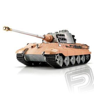 TORRO tank PRO 1/16 RC Kingtiger bez nástřiku - infra