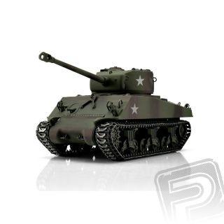 TORRO tank PRO 1/16 RC M4A3 Sherman 76mm kamufláž - infra