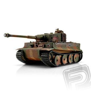 TORRO tank PRO 1/16 RC Tiger I Middle Vers. kamufláž - infra