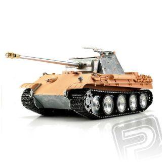 TORRO tank PRO 1/16 RC Panther G bez nástřiku - infra