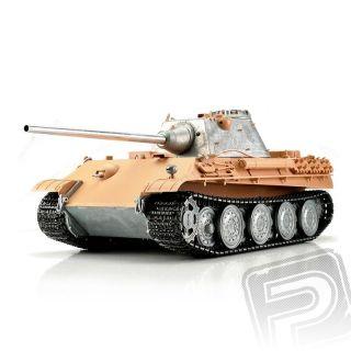 TORRO tank PRO 1/16 RC Panther F bez nástřiku - infra