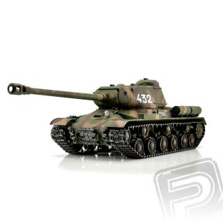 TORRO tank PRO 1/16 RC IS-2 1944 kamufláž - infra