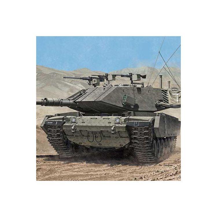 """Model Kit tank 13297 - MAGACH 7C """"GIMEL"""" (1:35)"""