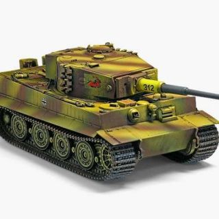 "Model Kit tank 13314 - TIGER-1 ""LATE VERSION"" (1:35)"