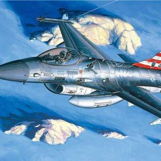 Model Kit letadlo 12259 - F-16A/C (1:48)