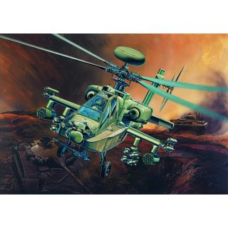 Model Kit vrtulník 12268 - AH-64D LONGBOW (1:48)