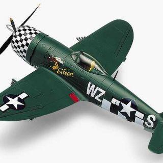 """Model Kit letadlo 12474 - P-47D """"EILEEN"""" (1:72)"""