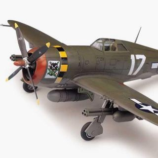 "Model Kit letadlo 12492 - P-47D ""RAZOR-BACK"" (1:72)"