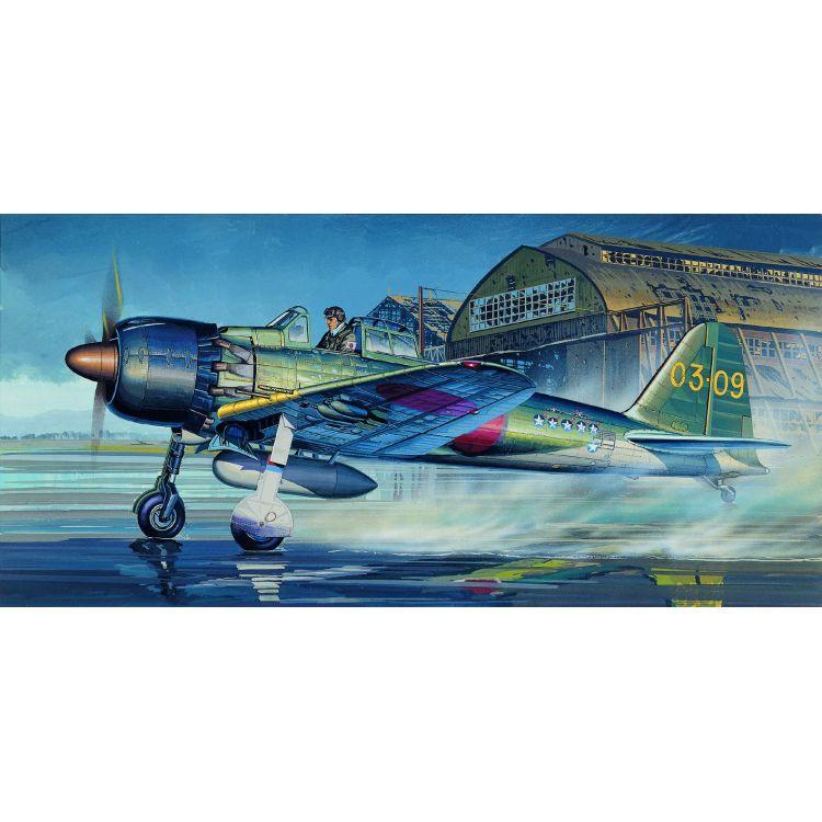 Model Kit letadlo 12493 - ZERO FIGHTER TYPE 52C (1:72)