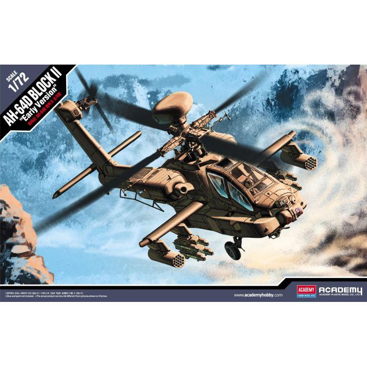 Model Kit vrtulník 12514 - U.S. ARMY AH-64D (1:72)