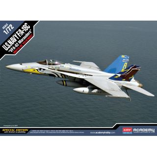 "Model Kit letadlo 12534 - F/A-18C U.S NAVY VFA-82 ""MARAUDERS"" LE: (1:72)"