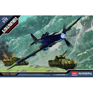 Model Kit letadlo 12538 - IL-2M & PANTHER D (1:72)