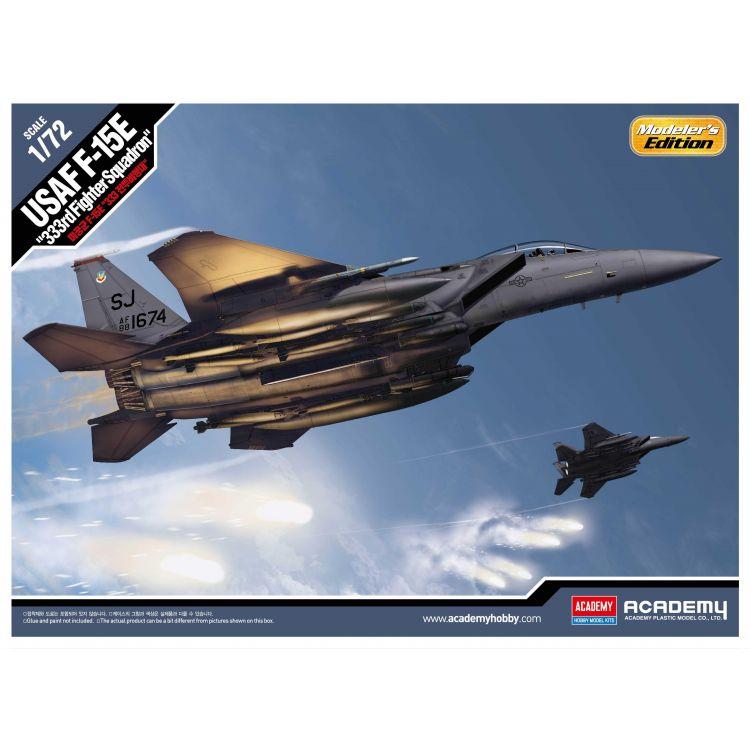 "Model Kit letadlo 12550 - USAF F-15E ""333rd Fighter Squadron"" (1:72)"