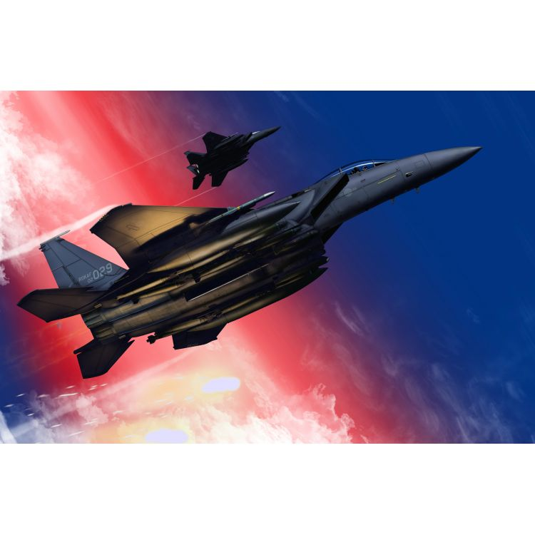 Model Kit letadlo 12554 - ROKAF F-15K Slam Eagle MCP (1:72)