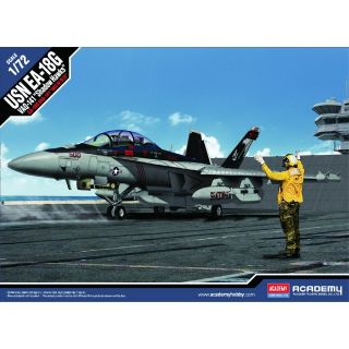 "Model Kit letadlo 12560 - EA-18G ""VAQ-141 Shadowhawks"" (1:72)"